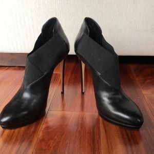 NEW Casadei black booties sz 11